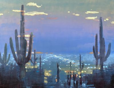 Sold Artwork - AZ Night 48x60