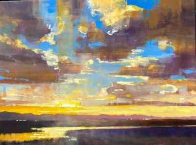 Sold Artwork - Golden Hour 30x40
