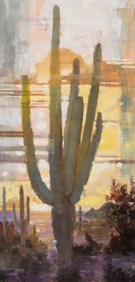 Sold Artwork - Golden Evening