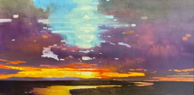 Sold Artwork - The River Leads 30x60