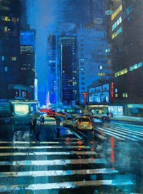 Sold Artwork - 53rd and Rain