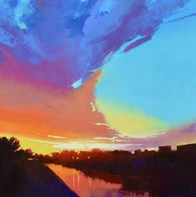 Originals - Rolling Sunset 60 x 60 $22,900