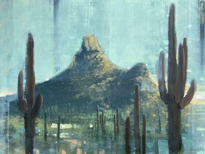 Sold Artwork - Pinnacle Peak