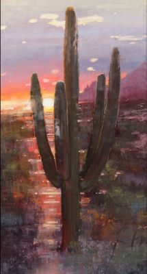 Sold Artwork - Desert Color