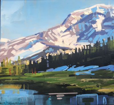 Sold Artwork - Mount Rainer