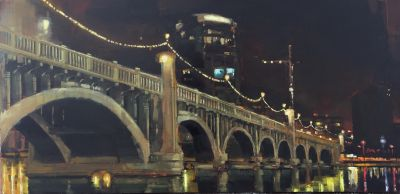 Sold Artwork - Tempe Bridge       24x48