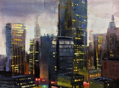 Originals - Rainy City  9x12