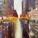 Sold Artwork - NY Rain